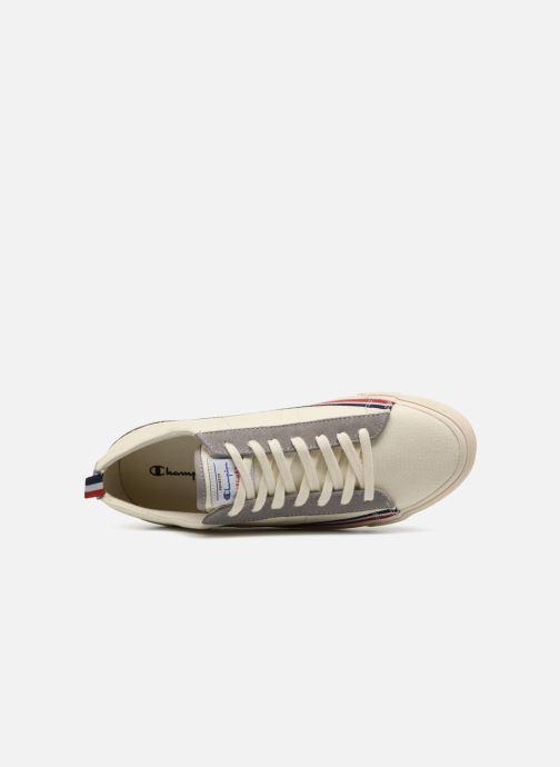 Sneaker Champion Low Cut Shoe MERCURY LOW CANVAS weiß ansicht von links
