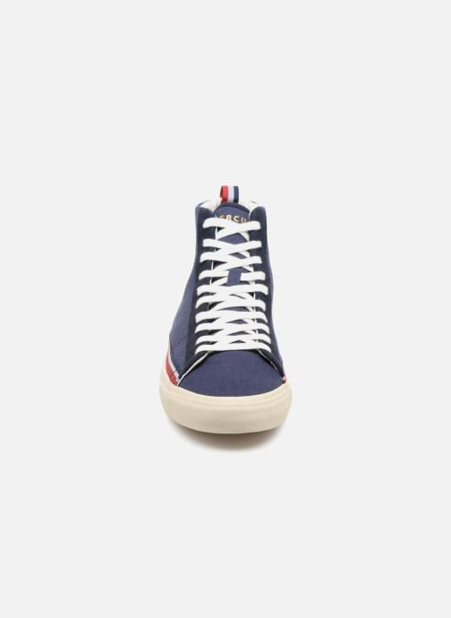 Baskets Champion Mid Cut Shoe MERCURY MID CANVAS Bleu vue portées chaussures