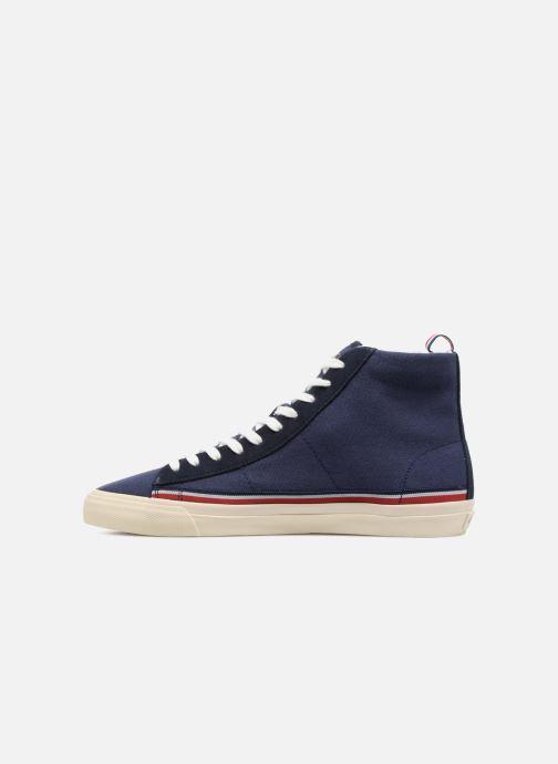 Sneakers Champion Mid Cut Shoe MERCURY MID CANVAS Blauw voorkant