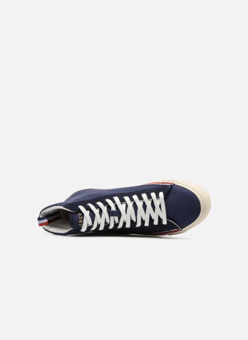 Sneakers Champion Mid Cut Shoe MERCURY MID CANVAS Blauw links