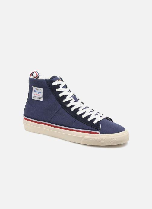 Sneakers Champion Mid Cut Shoe MERCURY MID CANVAS Blauw detail