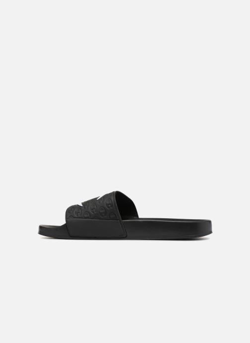 Sandalen Champion Slide MULTI-LIDO Zwart voorkant