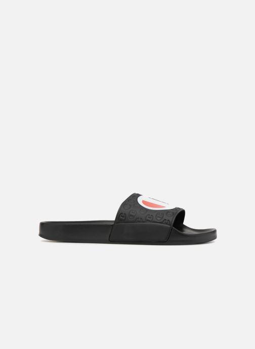 Sandalen Champion Slide MULTI-LIDO Zwart achterkant