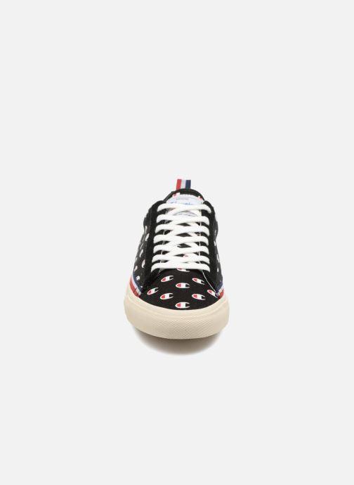Sneaker Champion Low Cut Shoe MERCURY LOW CANVAS W schwarz schuhe getragen