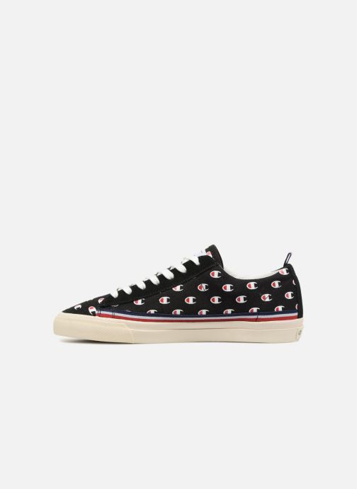 Baskets Champion Low Cut Shoe MERCURY LOW CANVAS W Noir vue face