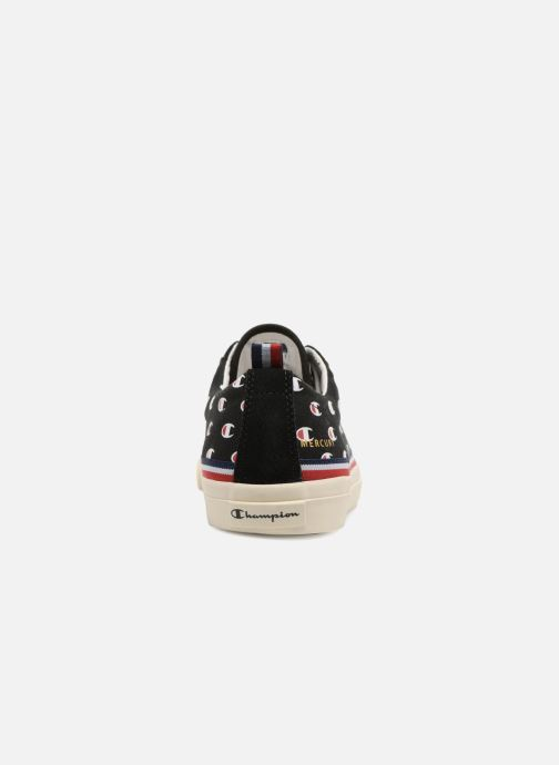 Baskets Champion Low Cut Shoe MERCURY LOW CANVAS W Noir vue droite