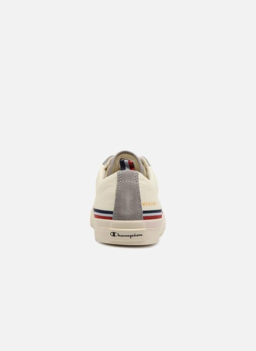 Trainers Champion Low Cut Shoe MERCURY LOW CANVAS W White view from the right