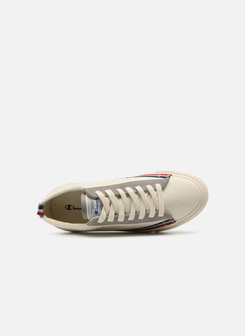 Trainers Champion Low Cut Shoe MERCURY LOW CANVAS W White view from the left