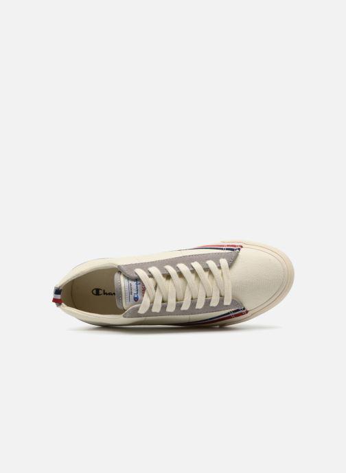 Sneaker Champion Low Cut Shoe MERCURY LOW CANVAS W weiß ansicht von links