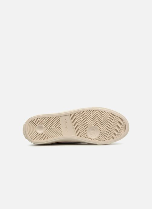 Baskets Champion Mid Cut Shoe MERCURY MID CANVAS W Blanc vue haut
