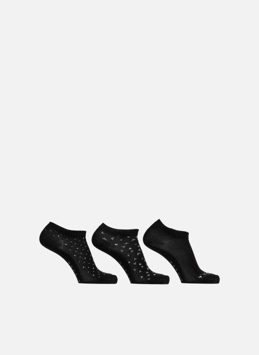 Socks & tights Esprit Geometr. SN 3P Black detailed view/ Pair view