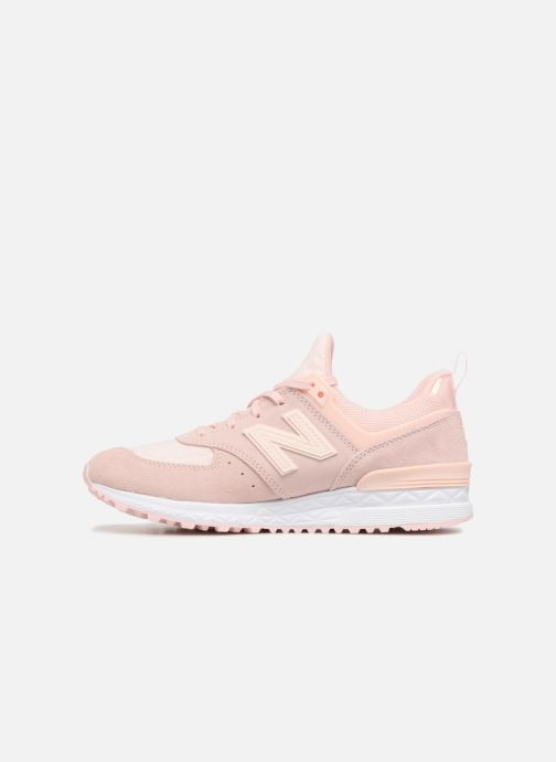 Trainers New Balance WS574 W Pink front view