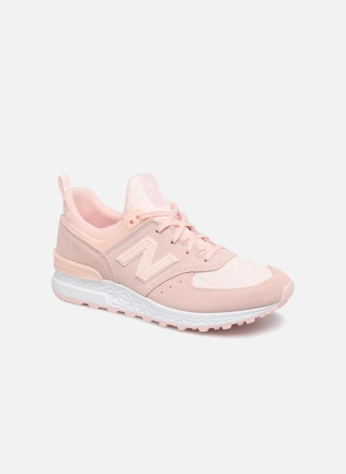 Trainers New Balance WS574 W Pink detailed view/ Pair view