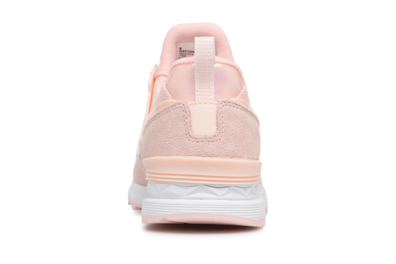 Sneakers New Balance WS574 W Roze rechts