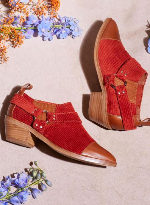 Bottines et boots Made by SARENZA Made by Sarenza X Valentine Gauthier Boots Marron vue 3/4