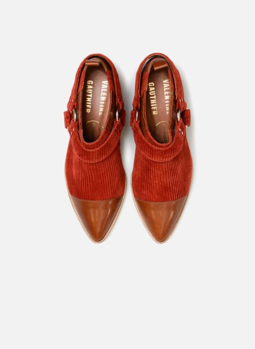 Bottines et boots Made by SARENZA Made by Sarenza X Valentine Gauthier Boots Marron vue portées chaussures
