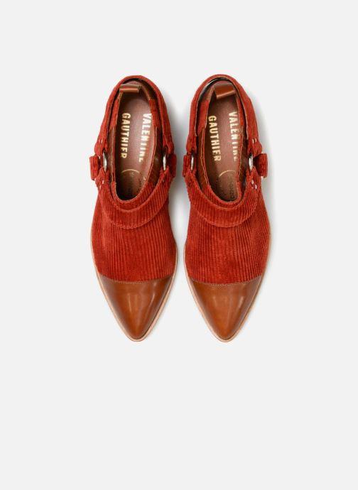 Stivaletti e tronchetti Made by SARENZA Made by Sarenza X Valentine Gauthier Boots Marrone modello indossato