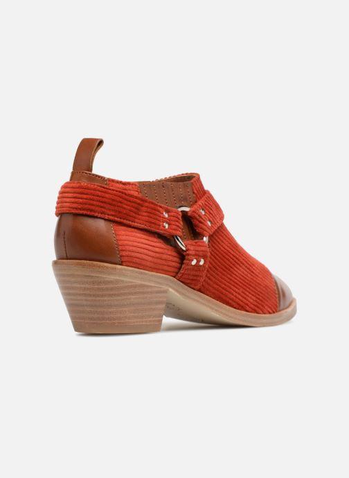Stiefeletten & Boots Made by SARENZA Made by Sarenza X Valentine Gauthier Boots braun ansicht von vorne