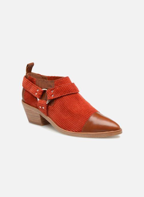 Bottines et boots Made by SARENZA Made by Sarenza X Valentine Gauthier Boots Marron vue droite