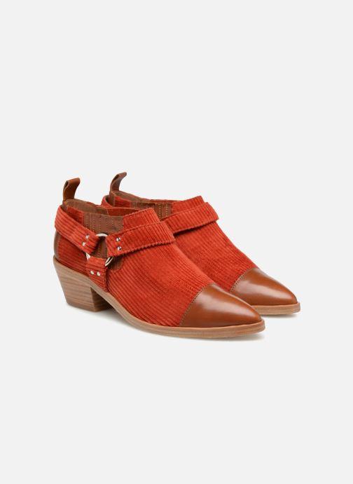 Stiefeletten & Boots Made by SARENZA Made by Sarenza X Valentine Gauthier Boots braun ansicht von hinten