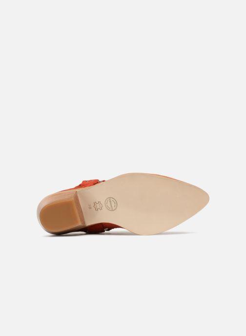 Stivaletti e tronchetti Made by SARENZA Made by Sarenza X Valentine Gauthier Boots Marrone immagine dall'alto