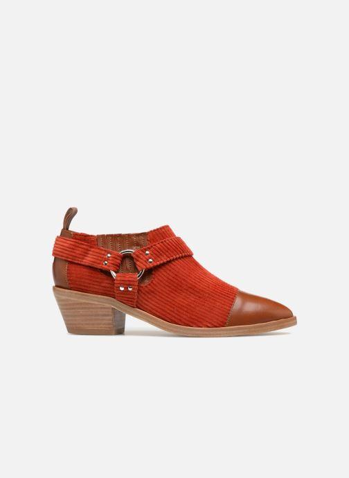 Bottines et boots Made by SARENZA Made by Sarenza X Valentine Gauthier Boots Marron vue détail/paire