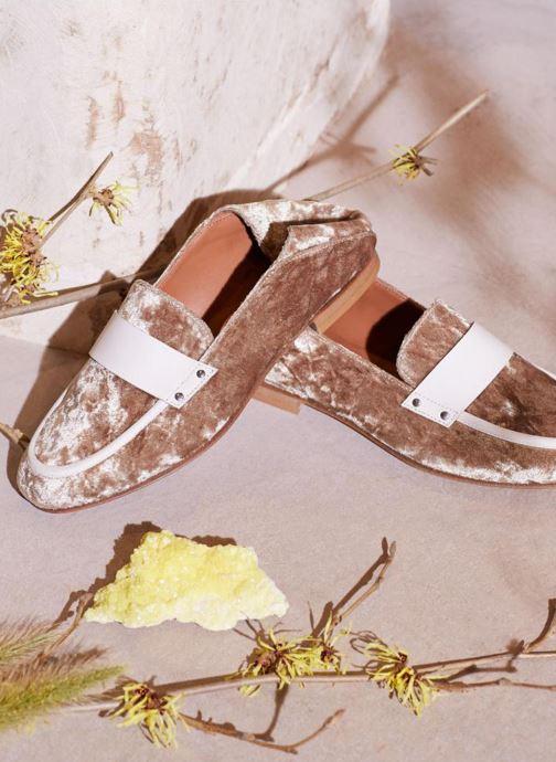 Loafers Made by SARENZA Made by Sarenza X Valentine Gauthier Mocassin Beige 3/4 billede