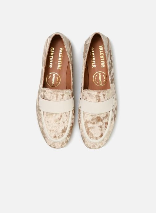 Loafers Made by SARENZA Made by Sarenza X Valentine Gauthier Mocassin Beige model view