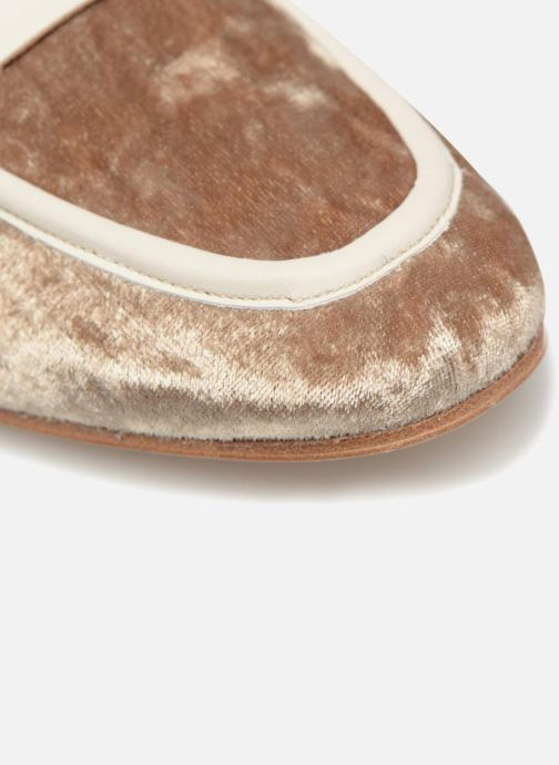 Loafers Made by SARENZA Made by Sarenza X Valentine Gauthier Mocassin Beige view from the left