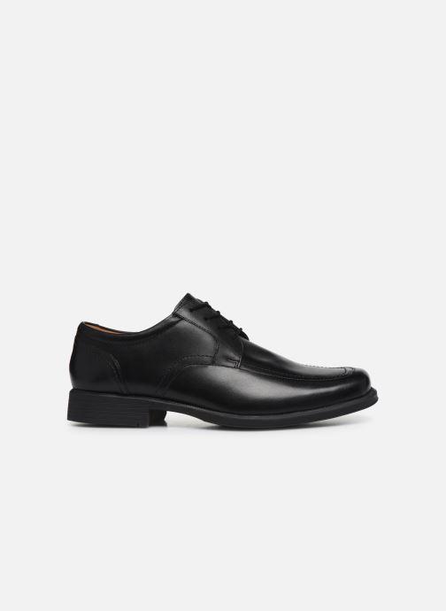 Zapatos con cordones Clarks Huckley Spring Negro vistra trasera