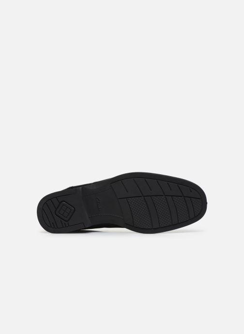 Zapatos con cordones Clarks Huckley Spring Negro vista de arriba
