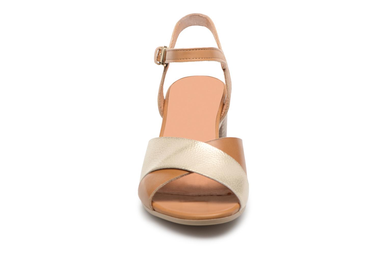 Sandales et nu-pieds Georgia Rose Semoria soft Marron vue portées chaussures