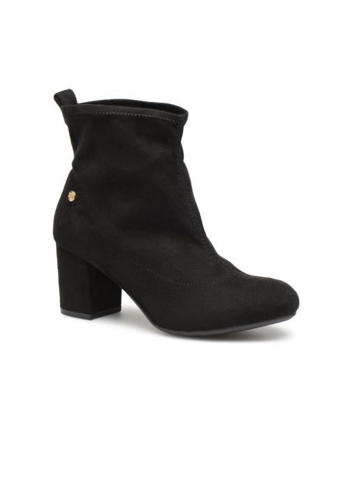 Xti 30461 (schwarz) - Stiefeletten & Stiefel bei Más cómodo