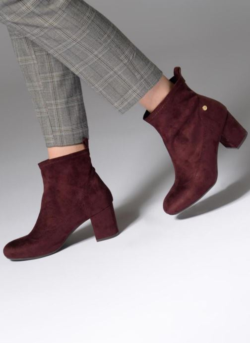 Ankle boots Xti 30461 Burgundy view from underneath / model view