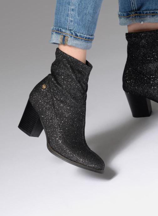 Ankle boots Xti 030516 Silver view from underneath / model view