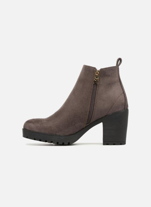 Ankle boots Xti 047398 Brown front view