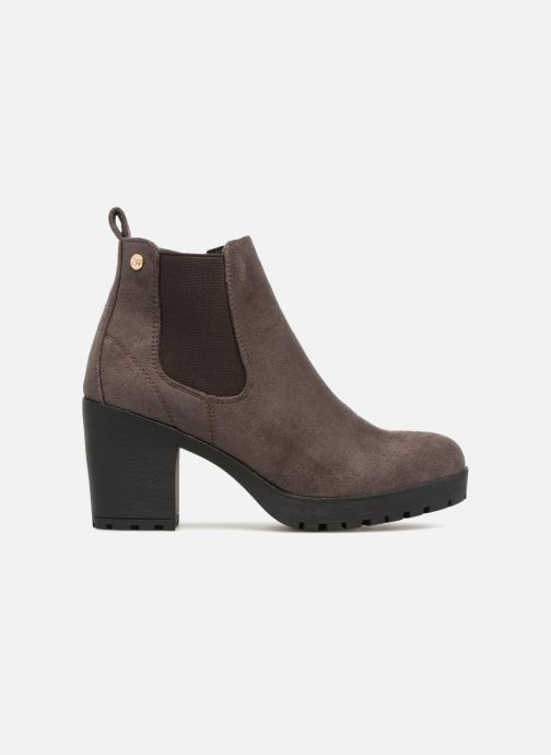 Ankle boots Xti 047398 Brown back view