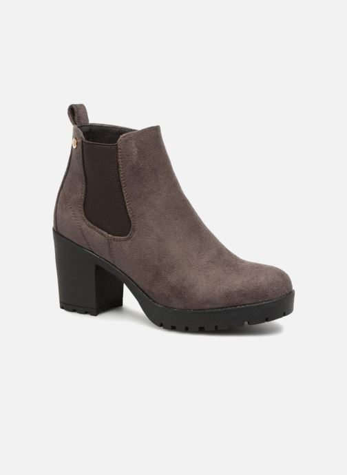 Ankle boots Xti 047398 Brown detailed view/ Pair view