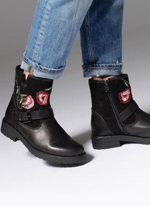 Bottines et boots Xti 047579 Noir vue bas / vue portée sac