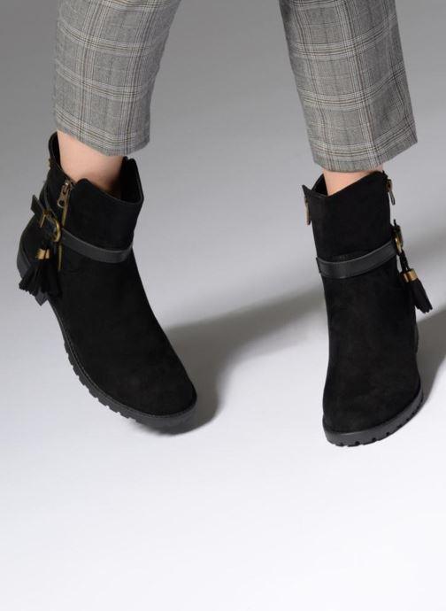 Bottines et boots Refresh 63710 Noir vue bas / vue portée sac