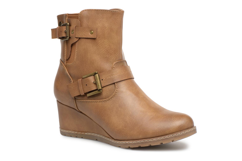 Bottines et boots Refresh 63882 Marron vue détail/paire