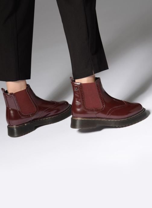 Ankle boots Refresh 64025 Burgundy view from underneath / model view