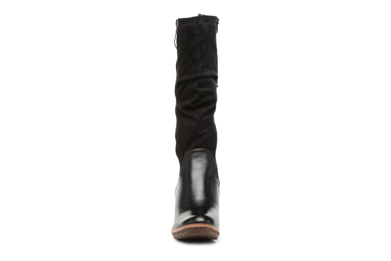 Bottes Refresh 64029 Noir vue portées chaussures
