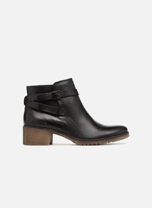 Boots en enkellaarsjes Kickers MILA 2 Zwart achterkant