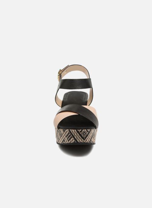 Sandaler Georgia Rose Lavata Sort se skoene på