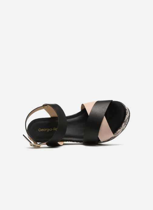 Georgia Georgia Georgia Rosa Lavata (schwarz) - Sandalen bei Más cómodo 4c3ac1