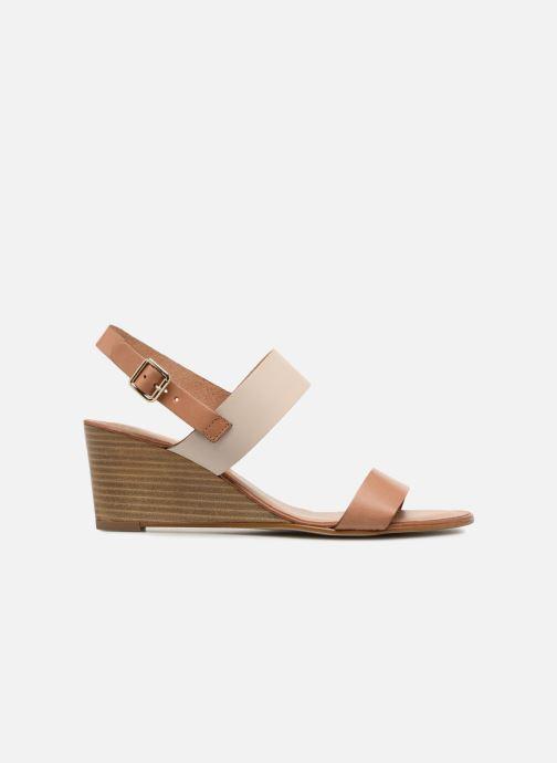 Sandales et nu-pieds Georgia Rose Lobanda Marron vue derrière