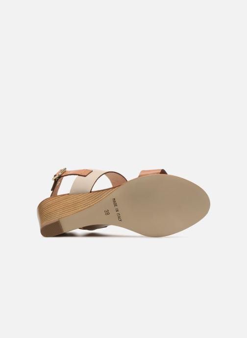 Sandales et nu-pieds Georgia Rose Lobanda Marron vue haut