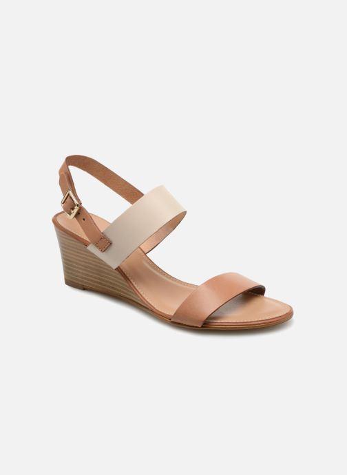 Sandales et nu-pieds Georgia Rose Lobanda Marron vue détail/paire
