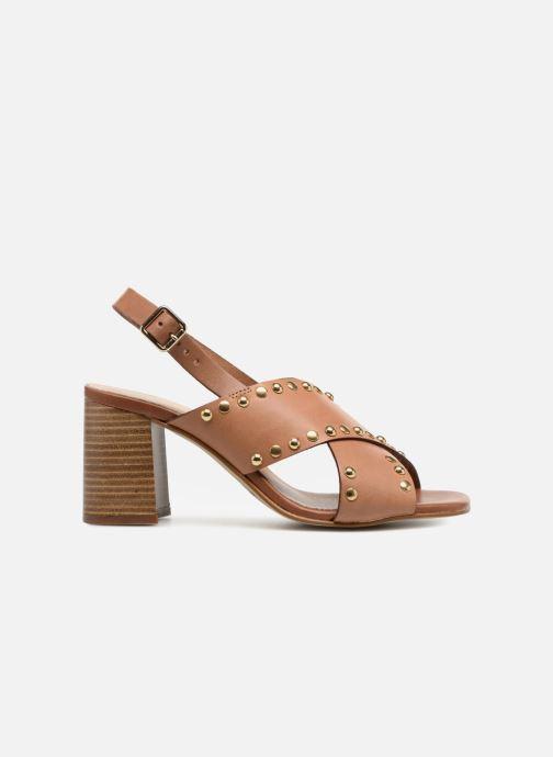 Sandales et nu-pieds Georgia Rose Loclou Marron vue derrière